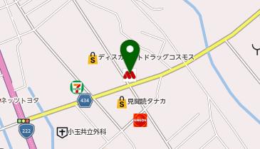 モスバーガー日南店の地図画像