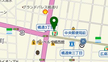 モスバーガー宮崎橘通店の地図画像