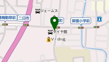 タイヤ館金沢西の地図画像