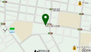 蕨市役所 塚越連絡室(1F)の地図画像