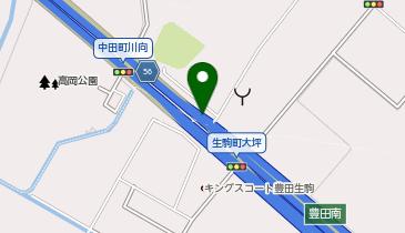 伊勢湾岸自動車道 豊田南IC 上り 出口の地図画像