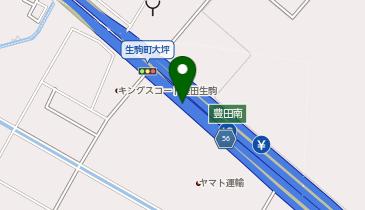 伊勢湾岸自動車道 豊田南IC 下り 入口の地図画像