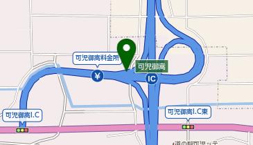 東海環状自動車道 可児御嵩IC 内回り 入口の地図画像
