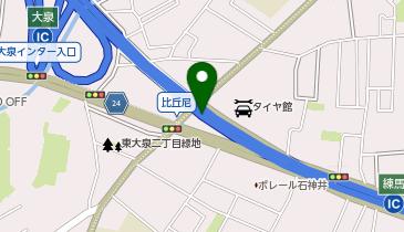 関越自動車道 練馬IC 下り 入口の地図画像