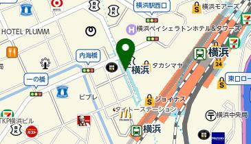 横浜の地図画像