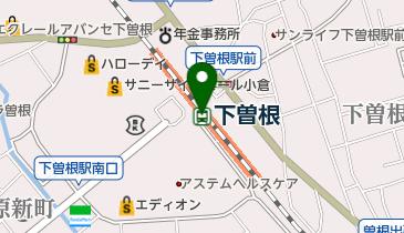 下曽根の地図画像