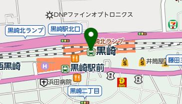 黒崎の地図画像