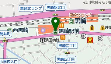 黒崎駅前の地図画像
