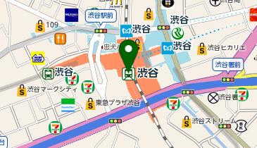 渋谷の地図画像