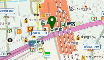 新宿の地図画像