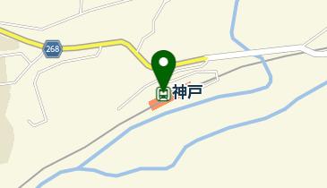 神戸(群馬県)の地図画像