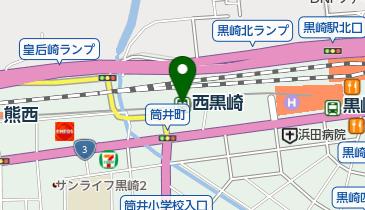 西黒崎の地図画像