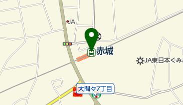 赤城の地図画像