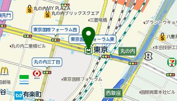 東京の地図画像