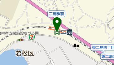 二島の地図画像