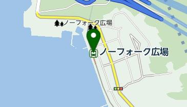 ノーフォーク広場の地図画像