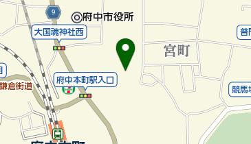 浅間神社の地図画像