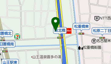 名鉄交通株式会社の地図画像