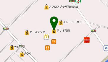一蔵&いち瑠 アリオ市原の地図画像