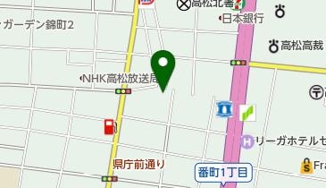 高松ダンスアカデミーの地図画像