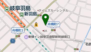 おんさい朝市 羽島中央グリーンの地図画像