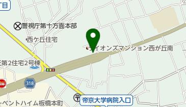 セゾン運転代行の地図画像