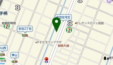 星乃珈琲店 姫路店の地図画像
