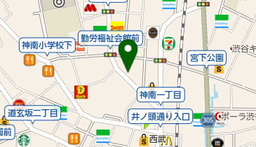 Apple Store渋谷(アップルストア渋谷)の地図画像