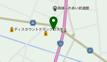 ベリーマッチ高城店の地図画像