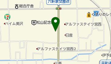 愛媛近鉄タクシー株式会社 本社営業所の地図画像