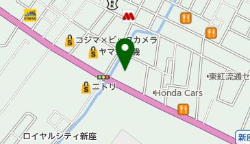 ヒマラヤスポーツ 新座店の地図画像