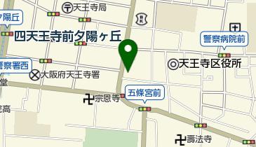近鉄タクシー株式会社 大阪総合営業所の地図画像