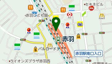VIE DE FRANCE Express(ヴィドフランスエクスプレス) エキュート赤羽店の地図画像