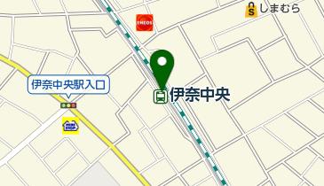 レンタサイクル 伊奈中央駅の地図画像