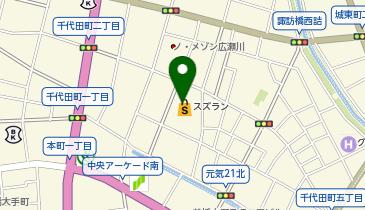 サンリオ スズラン 前橋店6Fの地図画像