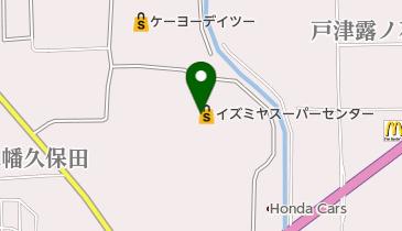 イズミヤ 八幡店 スーパーセンターの地図画像