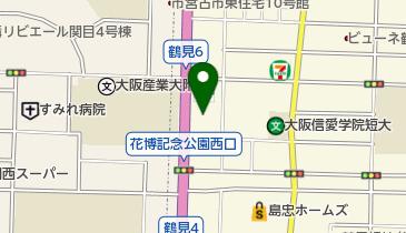タイムズカーレンタル 鶴見店の地図画像