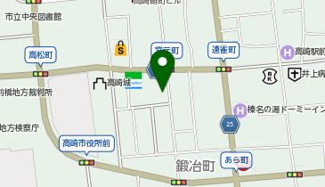 WASH&FOLD(ウォッシュ アンド フォールド) 高崎店の地図画像