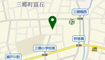 尾張旭市立東部保育園の地図画像