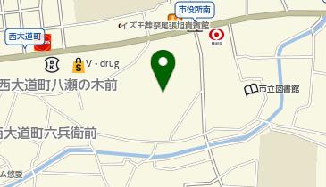 中部保育園の地図画像
