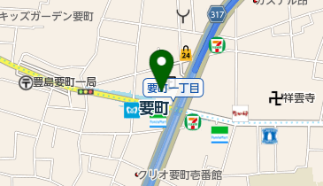 FASTGYM(ファストジム)24 要町店の地図画像