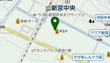 IKEA(イケア)福岡新宮の地図画像
