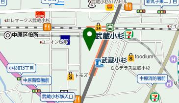 武蔵小杉東急スクエアの地図画像