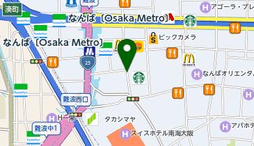 大黒屋 大阪なんば店の地図画像