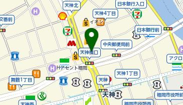 佐藤貴美枝ニットソーイングクラブ ミーナ天神店の地図画像