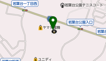 コーチャンフォー若葉台店の地図画像