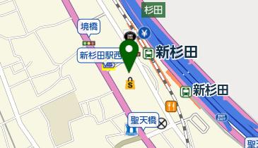 JEANS MATE(ジーンズメイト) らびすた新杉田店の地図画像