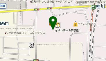 イオンモール京都桂川の地図画像