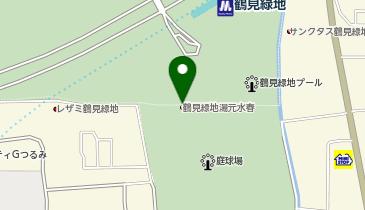 鶴見緑地湯元 水春の地図画像