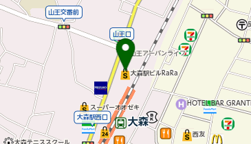 VIE DE FRANCE(ヴィ・ド・フランス)大森店の地図画像